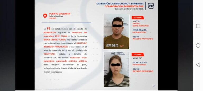 Minnesota couple arrested in Puerto Vallarta