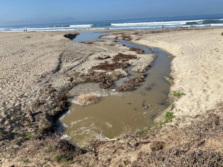 Ensenada beaches closed due to sewage spill