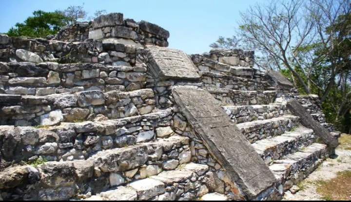 Visit Pomoná, an ancient Maya civilization archaeological site located in Tabasco