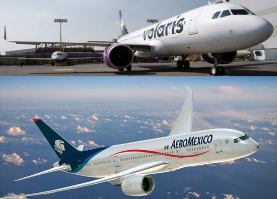 Airlines cancel Merida-Mexico City flights