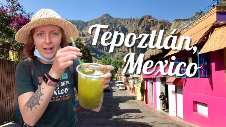 Visit the magical town of Tepoztlán, Morelos with Tangerine Travels